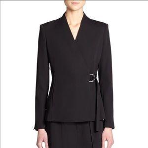 H & M Black Belted Blazer